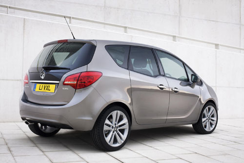 Vauxhall Meriva pricing announced