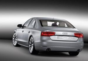 The Audi A8 hybrid