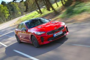Kia Stinger on sale January 2018, priced from £31,995