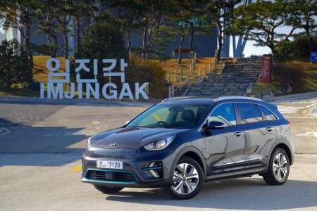 Fully electric Kia e-Niro to be priced from £32,995