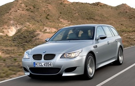The new BMW M5 Touring