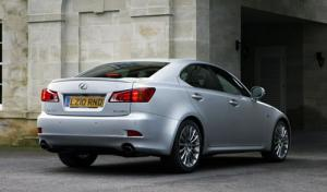 Lexus IS gets new F-Sport grade for 2010