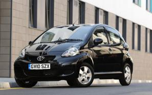The new Toyota Aygo Black range-topper