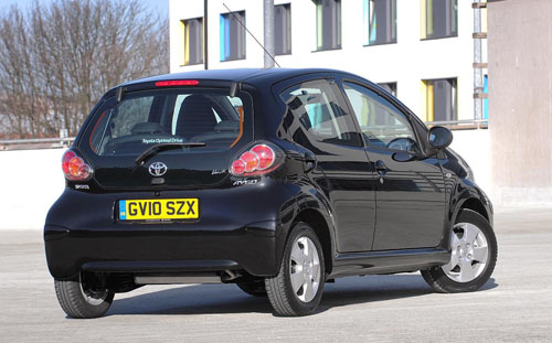 The new Toyota Aygo Black range-topper