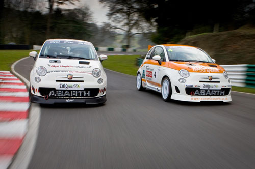 Trofeo Abarth 500 GB race series calendar confirmed