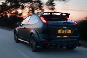 The Limited edition 350 PS Ford Focus RS500