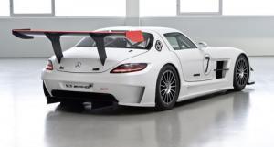 The new Mercedes-Benz SLS AMG GT3
