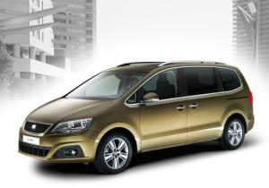 First official photos of new SEAT Alhambra