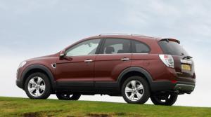 The New Chevrolet Captiva LTZ