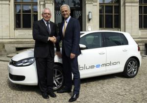 Electric VW Golf blue-e-motion gears up for 2013 introduction