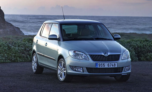 Skoda Fabia Estate Greenline. Skoda unveils new Fabia Estate