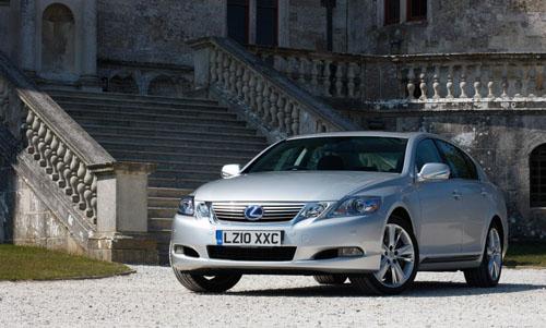 Lexus GS 450h Hybrid enhanced for 2010
