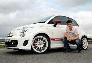 Star drivers line up for Abarth 500 Celebrity Challenge at Silverstone