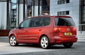 New Volkswagen Touran compact MPV