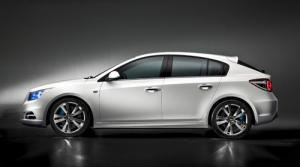 Chevrolet Cruze hatchback to debut at Paris