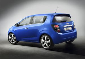 New Chevrolet Aveo to be launched in Autumn 2011 following Paris debut