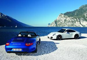 The New Porsche 911 Carrera GTS Coupe and Cabriolet