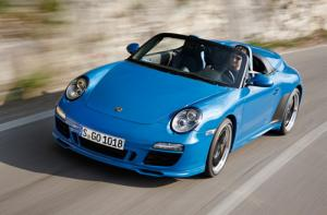 The new Porsche 911 Speedster