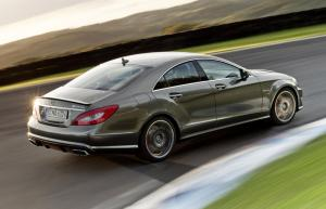 The new Mercedes-Benz CLS 63 AMG