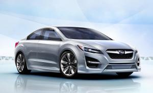 Subaru Impreza Design Concept unveiled at LA Auto Show