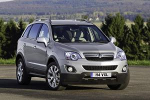 Vauxhall Antara 4x4 gets a new look