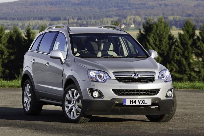 Vauxhall Antara 4 215 4 Gets A New Look Archive Testdriven