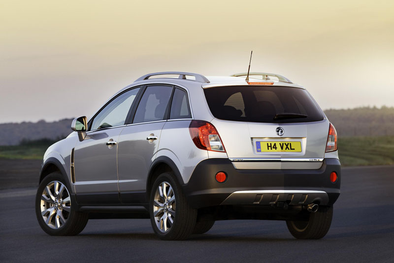 Vauxhall Antara 4 215 4 Gets A New Look Archive Testdriven