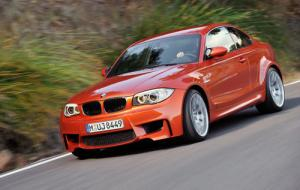 The new BMW 1-Series M Coupe