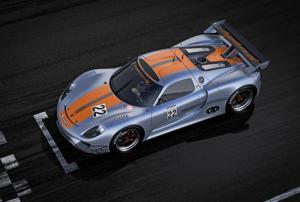 The Porsche 918 RSR