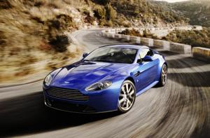 The new Aston Martin V8 Vantage S
