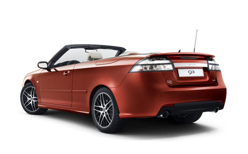 The new Saab 9-3 Convertible Independence Edition