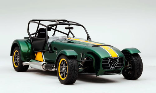 Team Lotus Special Edition Caterham Seven to celebrate purchase by Team Lotus