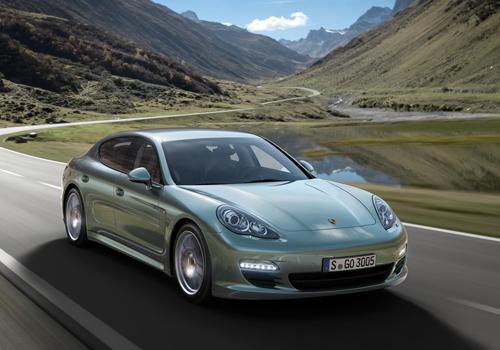 Porsche Panamera Diesel on sale August 2011 priced from £62,134