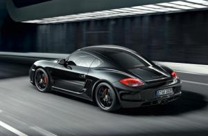 The Porsche Cayman S Black Edition