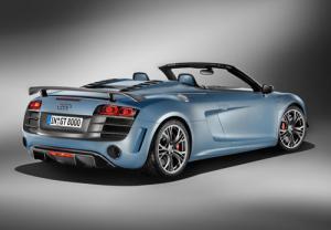 The Audi R8 GT Spyder