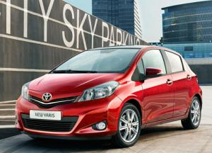 First official pictures of new Toyota Yaris