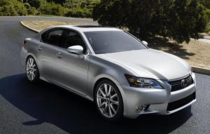 The new 2012 Lexus GS – first official images