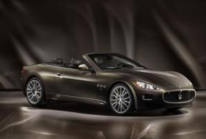 Maserati GranCabrio Fendi to debut at Frankfurt