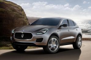 The new Maserati Kubang