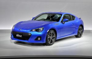 Subaru BRZ makes its debut at Toyota