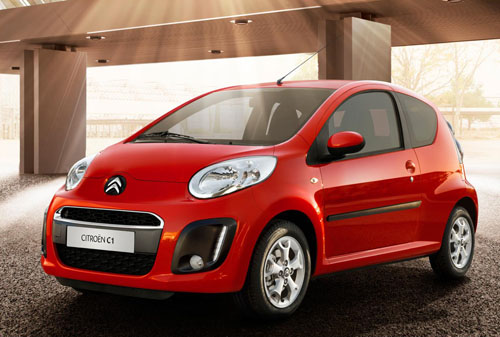 The new 2012 Citroen C1