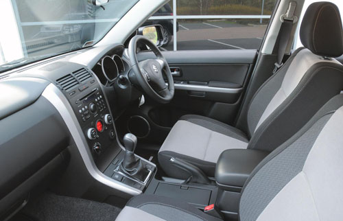 New Suzuki Special Edition Grand Vitara model, the SZ-T