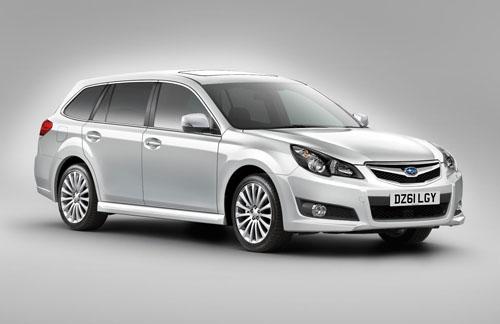 Subaru Legacy Tourer range revised for 2012