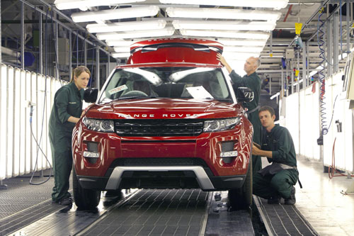 Jaguar Land Rover begins 24 hour production at Halewood