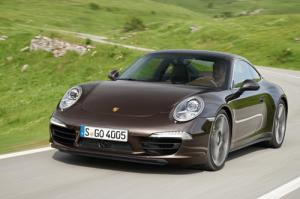 The new type 991 Porsche 911 Carrera 4 and 4S Coupe and Cabriolet