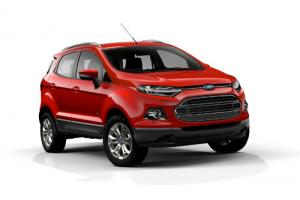 Ford unveils new EcoSport SUV at Paris show