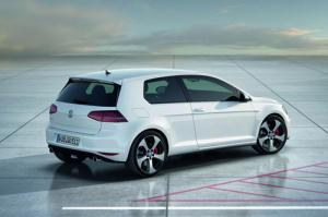 VW unveils next Golf GTi, but as a 'concept'