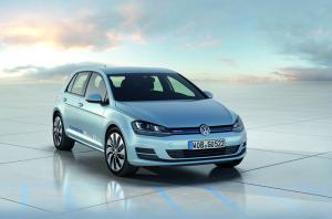 The new 2013 VW Golf BlueMotion