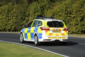 Ford Focus ST police patrol vehicle