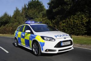 Ford Focus ST geared up for police patrol duties